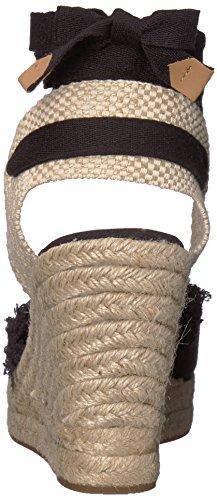 Iara Fabric Sandal Wedge Ivanka Women's Black Trump aq17xfnwU