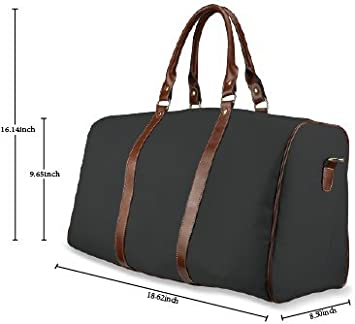 InterestPrint Carry-on Garment Bag Travel Bag Duffel Bag Weekend Bag Pink Leopard