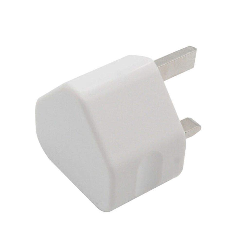 Minzhi 5V 1A//2A//3A Mobile Phone Cellphone USB Port Travel Charing Head Adapter UK Plug Wall Charger
