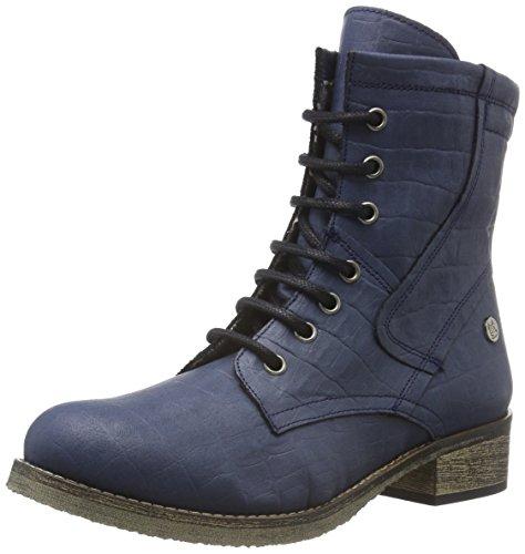 Jonny`s Vegan Dagrun, Zapatillas de Estar por Casa para Mujer Azul - Blau (Marino 1)