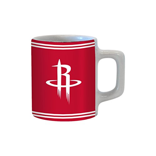 Boelter Brands NBA Houston Rockets Sublimated Mini Mug, 2-Ounce by Boelter Brands