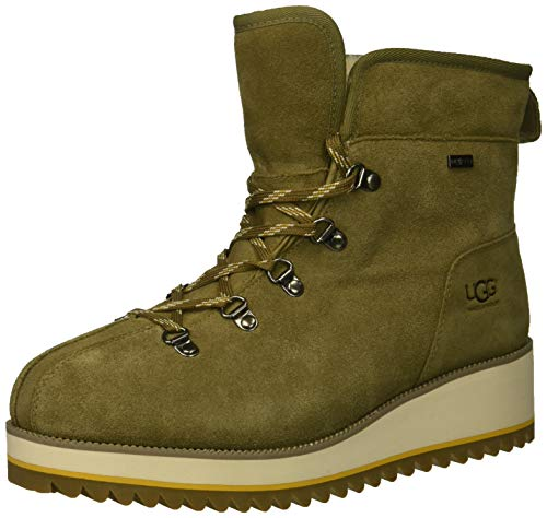 UGG Women's W Birch LACE-UP Boot Snow, Antilope, 10 M US (Boots Shoes Ugg Women)