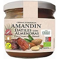 AMANDIN Crema Ecológica De Dátiles Con Almendras 330