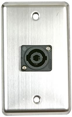 Elite Core OSP D-1-SPEAKON Duplex Wall Plate with 1-Speakon