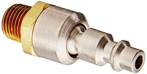 COILHOSE PNEUMATICS 15-04BS-DL Industrial Connector 1/4 Mpt Ball Swivel by Coilhose (Mpt Ball)