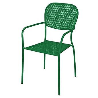 Bolero cg267 acero Bistro sillones, jardín - , color verde ...