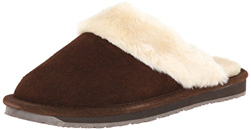 Clarks Women's Scuff Slip-On Mule Slipper - Brown - 10 B(...