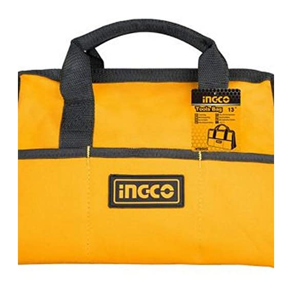 Ingco Tool Bag (HTBG28131, 13 Inches, Yellow) 4