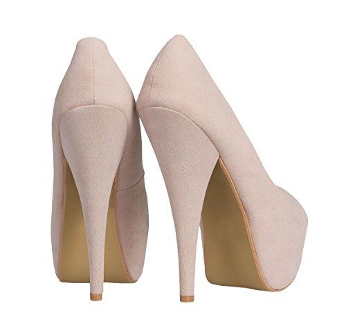 Odeon Womens Soft suede slingback neon pink yellow peeptoe high heel shoes Nude Neon Pink hujaWckPv