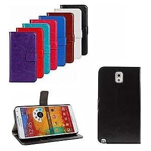 YULIN Teléfono Móvil Samsung - Carcasas de Cuerpo Completo - Color Sólido - para Samsung Galaxy Note 3 ( Negro/Blanco/Rojo/Azul/Marrón/Rosado/Púrpura/Rosa , , Rose