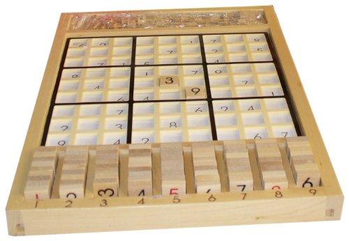 - Smart Minds Wood Sudoku Board