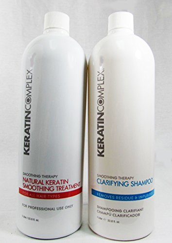 Keratin Complex Natural Treatment and Clarifying Shampoo, 32 Ounce by Keratin Complex