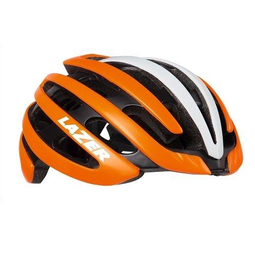 Lazer Fahrradhelm Matt Flash Orange-weiß 2018 Z1