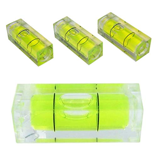 ILLIO 29mm Mini Spirit Level Bubbles Square Spirit Level Tool Mini Bubble Level for Measuring Tools NEW
