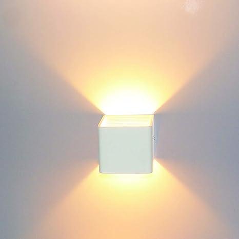 Glighone Applique da Parete Interni Lampada a Muro Applique LED ...