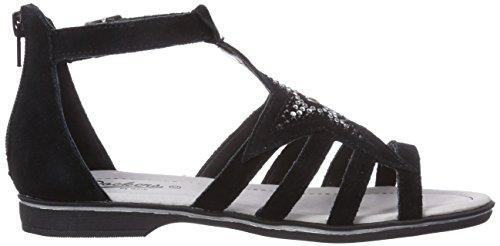 Dockers by Gerli 36VO610-200100 - sandalias abiertas de material sintético niña negro - negro