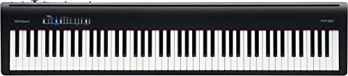ROLAND 88-note Portable Digital Piano, black, Keys (FP-30-BK)
