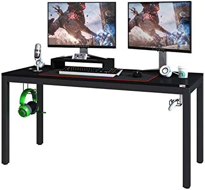 Need Gaming Desk-60 Inches Large Pro Computer Gaming Table