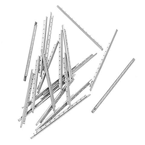 TOOGOO(R)19pcs Fret Wire Copper Fretwire Set 1.7mm for 26