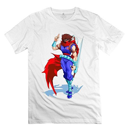 YONGDE Men's Strider Hiryu HD T Shirt S White