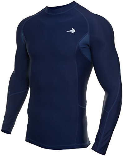 (CompressionZ Long Sleeve Thermal Top Compression T Shirt, Medium 37.5