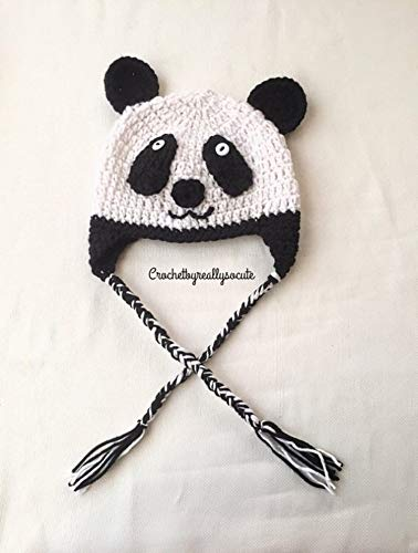 2f5bd713b16 Amazon.com  Panda baby beanie