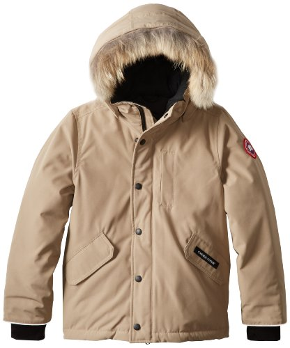Price comparison product image Canada Goose Youth Logan Parka, Tan, X-Small
