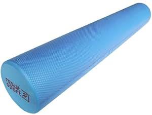 "ResultSport? EVA Foam Roller - Blue - 15cm x 90cm (6"" x 36"") - Free A3 Exercise Poster"