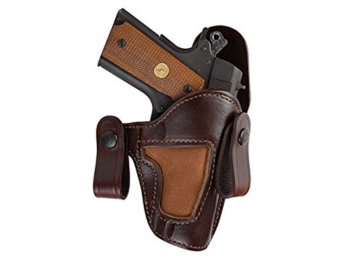 Bianchi 120 Covert Option Holster - Russet, Right Hand - For Glock 19/23-23870