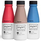 Variety Pack Soylent Meal Replacement Shake, Drink Variety Pack, Complete Meal in a Bottle, 20g Plant Protein, 14 oz Bottles, 12 Pack