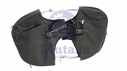 Engine Chaps Guard - Mutazu Soft Lowers Chaps Leg Warmer for Harley Touring Model OEM Engine Guard