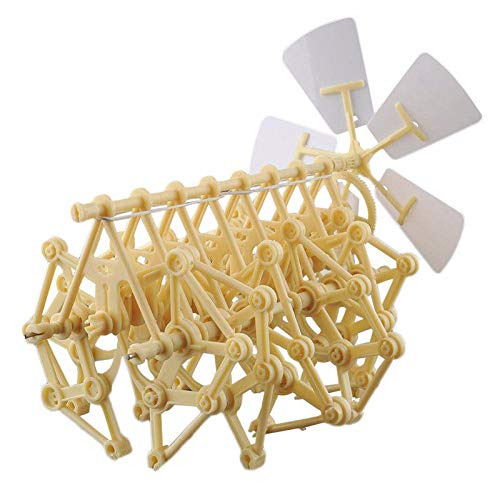 FidgetGear Wind Powered Walking Walker Mini Strandbeest DIY Assembly Model Kits Robot Toy from FidgetGear
