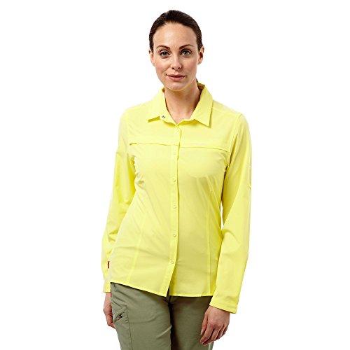 Craghoppers - Camisa de manga larga repelente a insectos para mujer Sal