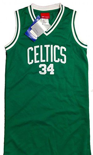 check out e3a90 bb4a2 NEW! Ladies Boston Celtics Authentic NBA Jersey Dress - Paul ...
