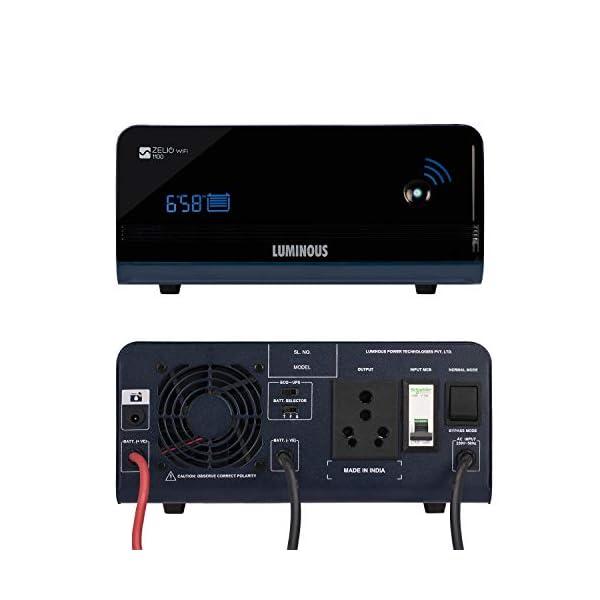 Luminous Zelio 1100 Wifi with InverGel IGSTJ 18000 150 Ah Gel Tubular Battery with Trolley TX100L 2021 June Trolley TX100L 150 Ah Gel Tubular Battery Zelio 1100 Wifi