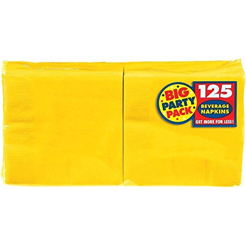 AMSCAN Big Party Pack Beverage Napkin 125-Pack: 5