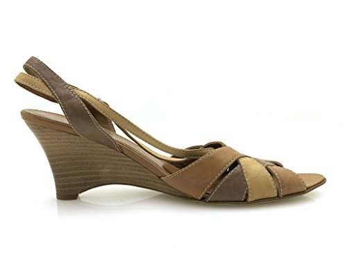 For Donna Scarpe Summer Joa 1742 Brown Sandalo Sandalette IxwA6W