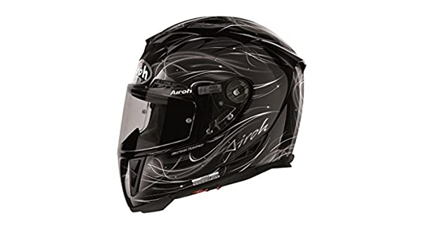 Amazon.es: Airoh T600 Cosmos Integral casco carbon/Kevlar - Negro