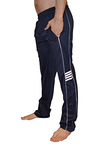 Track Pants (AllPro Men's AP Speed Drill Warm-Up Pants Track Pants Open Bottom (Large,)