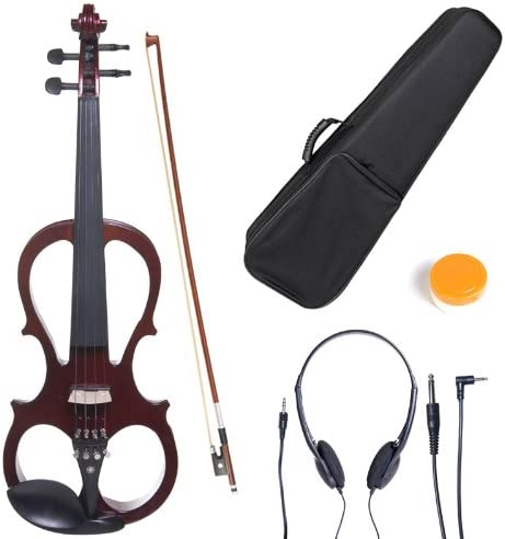 Cecilio Cevn-1na Solid Wood Electric/Silent Violin