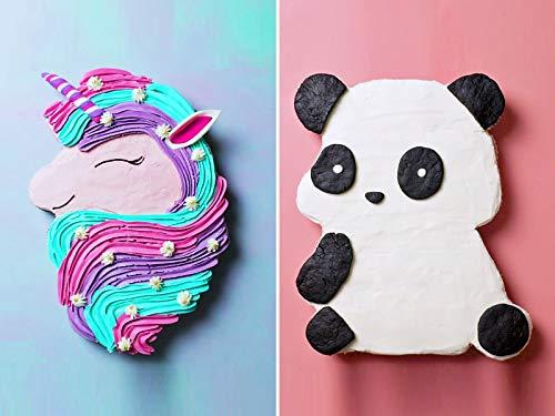 (Unicorn, Panda and Puppy Cupcake Cake)
