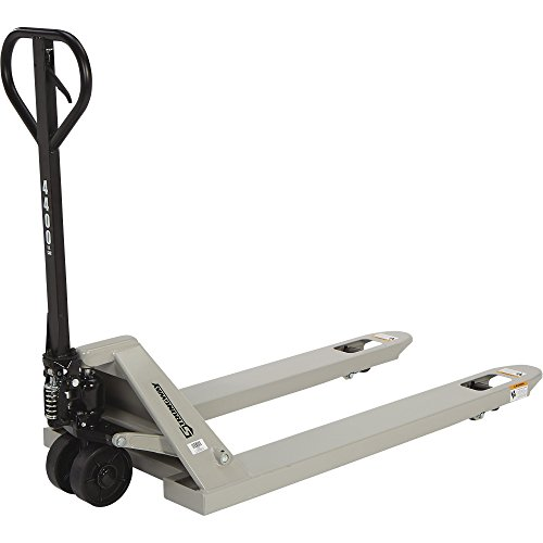 Strongway Pallet Jack - 4400-Lb. Capacity, 62in.L x 27in.W