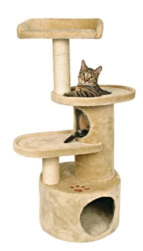 Trixie Pet Products Oviedo Cat Tree (Beige) by TRIXIE Pet ...