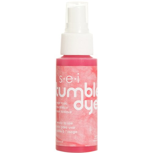 Coral Spray - Sew Easy Industries Tumble-Dye Spray Bottle, 2-Ounce, Coral