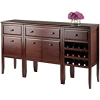 Winsome Wood Orleans 3 Piece Modular Buffet Set