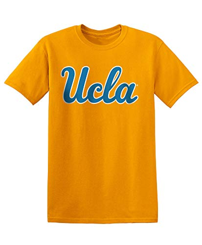 Elite Fan Shop NCAA Men's Ucla Bruins T Shirt Team Color Icon Ucla Bruins Gold X Large ()