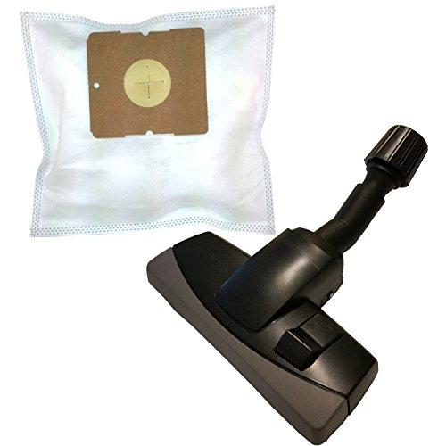 20sacs d'aspirateur + Protection universelle réglable avec brosse à Meubles pour Bestron DYL 1500E