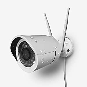 HiKam A7(2018 Ver), 960P, Super Intelligent Human Detection, WiFi Wireless Outdoor Security Camera, IP66 IP Bullet Surveillance Camera(Full Metal, Night Vision,Zoom,Alarm Push/Recording/Email)