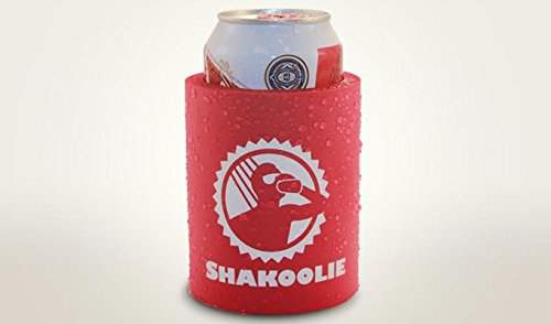 Shakoolie - The Original Shower Beer Can Cooler (Red)