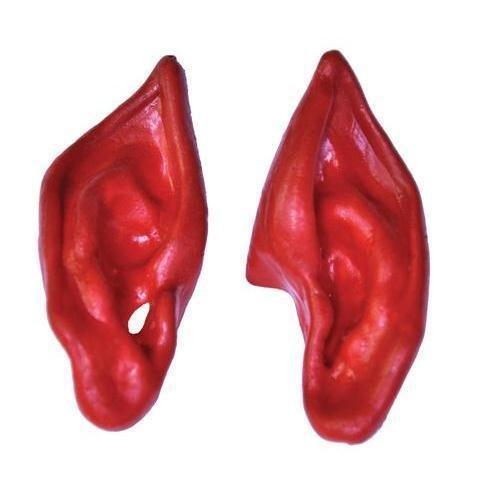 Morris Costumes EARS DEVIL RED